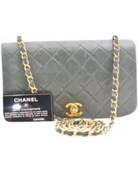 Chanel - Leather Handbag - Lyst