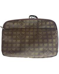Chanel - Cloth Vanity Case - Lyst