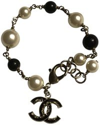 Chanel Bracelets CC en Métal - Noir
