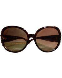 John Galliano Sunglasses - Brown