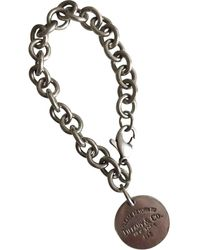 Tiffany & Co. Return To Tiffany Silver Silver Bracelet - Multicolour