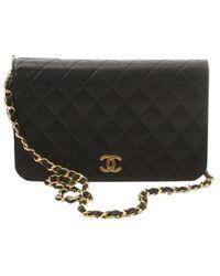Chanel Pochette Wallet on Chain en cuir - Noir