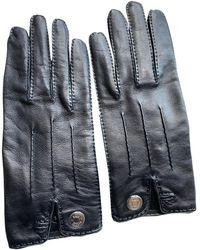 Hermès Leder Handschuhe - Schwarz