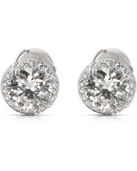 Tiffany & Co. - Pre-owned Other Platinum Earrings - Lyst