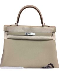 Hermès - Pre-owned Birkin 35 Leather Handbag - Lyst