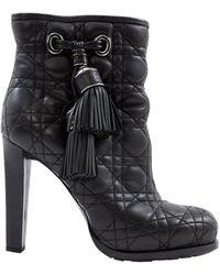 Dior Stivali in pelle nero
