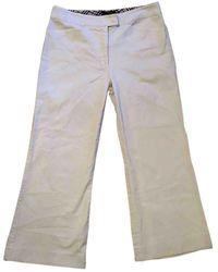 Burberry Straight Pants - Gray