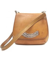 Delvaux - Leather Crossbody Bag - Lyst