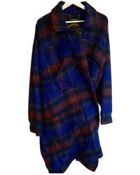 Vivienne Westwood Wool Coat - Blue
