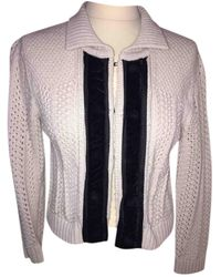 Chloé \n Beige Wool Knitwear - Natural