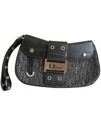 Dior Leder Baguette Tasche - Schwarz