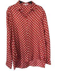Carven Silk Shirt - Red
