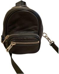Alexander Wang Attica Leather Backpack - Black