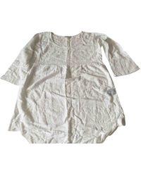 Étoile Isabel Marant Camisa en algodón blanco