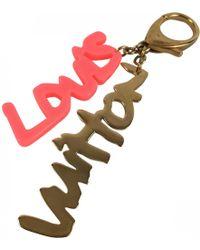 Louis Vuitton - Gold Metal Bag Charms - Lyst