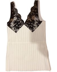 Céline Pre-owned Wool Camisole - White