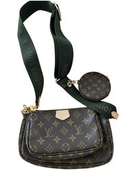 Louis Vuitton Bolsa de mano en lona marrón Multi Pochette Accessoires
