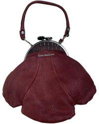 John Galliano Leather Handbag - Multicolour