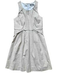 Ferragamo Silk Dress - Natural