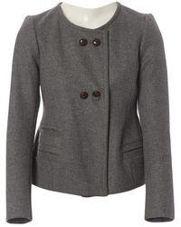 Isabel Marant - Grey Wool Jacket - Lyst