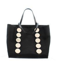 Manolo Blahnik Cloth Handbag - Black