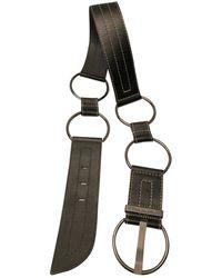 Lancel Leather Belt - Black