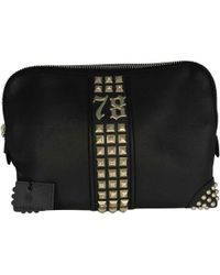 Philipp Plein - Pre-owned Black Leather Small Bags, Wallets & Cases - Lyst
