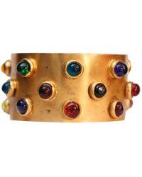 Chanel Baroque Gold Metal Bracelets - Multicolour