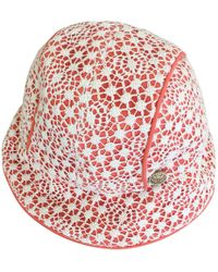 bcccb0b8 Chanel Hat Ladies Pink Coco Mark Size: M in Pink - Lyst