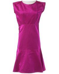 Jil Sander - Pink Cotton Dress - Lyst