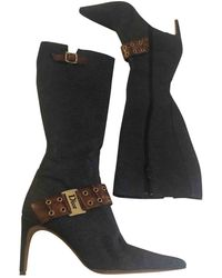 Dior Vintage - Cloth Boots - Multicolour