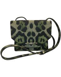 Givenchy Obsedia Leather Handbag - Green