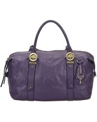 Mulberry - Purple Leather - Lyst