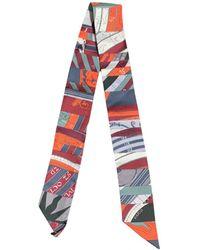 Hermès Twilly 86 Seide Schals - Mehrfarbig