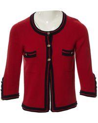 Chanel Kaschmir Cardigan - Rot
