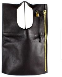Tom Ford Alix Brown Leather Handbag