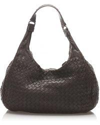 Bottega Veneta Leather Handbag - Brown