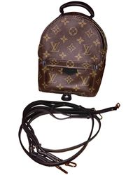 Louis Vuitton - Pre-owned Cloth Backpack - Lyst