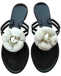 Chanel Flip-flops - Schwarz