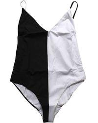 Chloé \n White Synthetic Swimwear - Multicolour