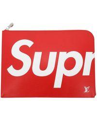 Louis Vuitton Leder Taschen - Rot