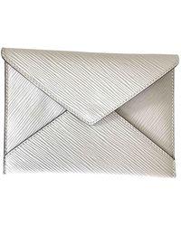Louis Vuitton Kirigami Leather Wallet - White