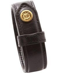 Loewe - Leather Bracelet - Lyst