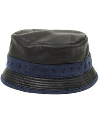 8b3a3c155cb Vestiaire Collective · Hermès - Black Leather Hats   Pull On Hats - Lyst