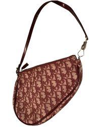 Dior Saddle Leinen Clutches - Mehrfarbig