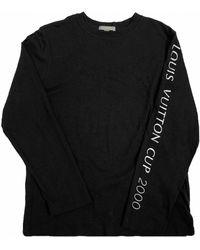 Louis Vuitton Black Cotton T-shirt