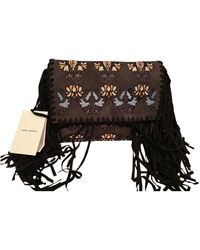 Isabel Marant Velvet Clutch Bag - Multicolor