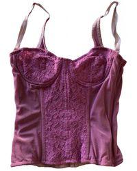 Dolce & Gabbana Corset - Pink