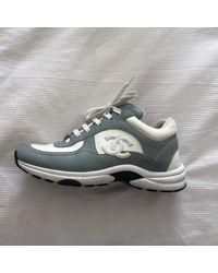 Chanel Leder Sneakers - Mehrfarbig