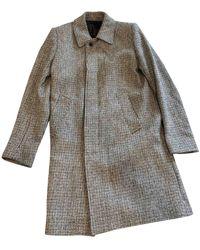Sandro Fall Winter 2019 Tweed Coat - Grey